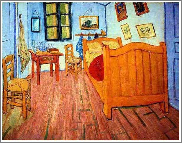絵画(油絵複製画)制作 フィンセント・ファン・ゴッホ「ゴッホの部屋」