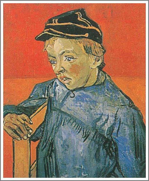 絵画(油絵複製画)制作 フィンセント・ファン・ゴッホ「カミーユ・ルーラン」