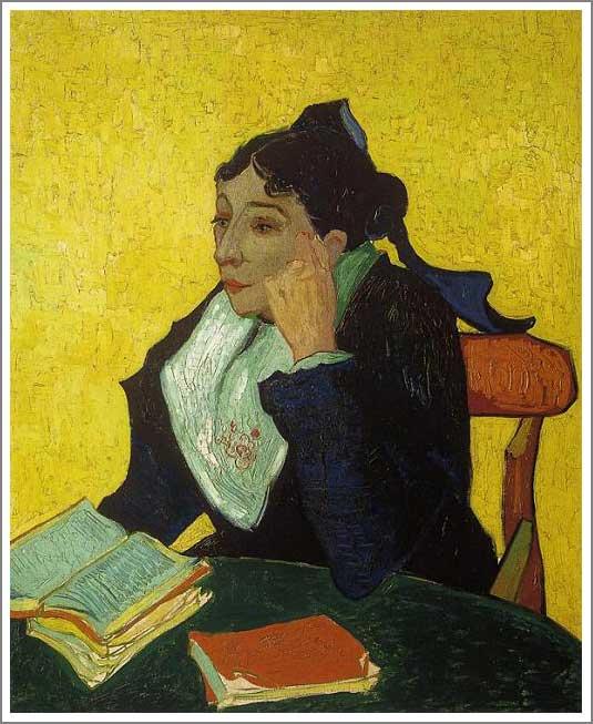 絵画(油絵複製画)制作 フィンセント・ファン・ゴッホ「アルルの女 (ジヌー夫人)」