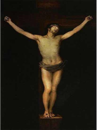 絵画(油絵複製画)制作 フランシスコ・デ・ゴヤ「キリストの磔刑」