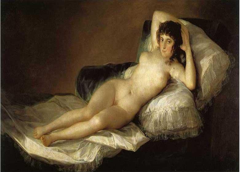 絵画(油絵複製画)制作 フランシスコ・デ・ゴヤ「裸のマハ」