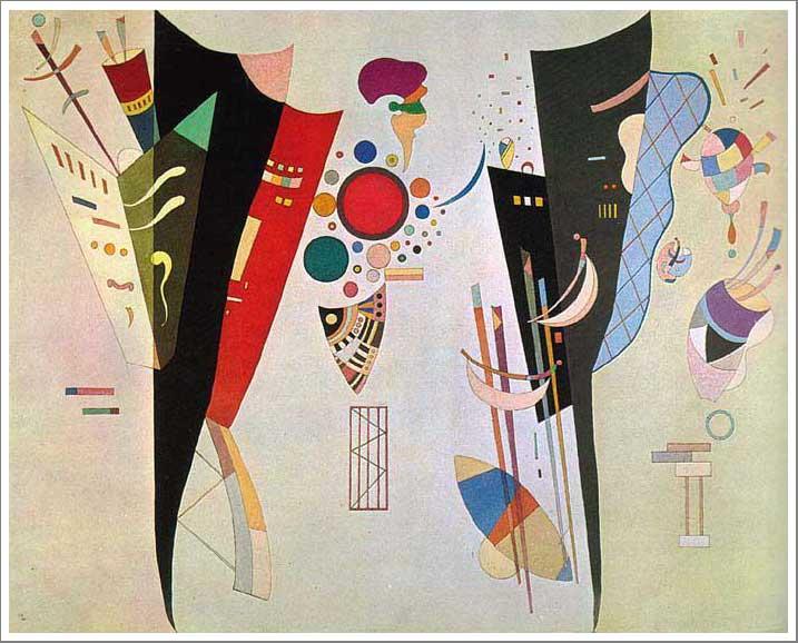 絵画(油絵複製画)制作 ワシリー・カンディンスキー「相互の和音」