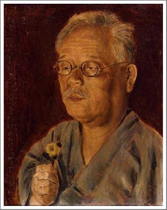 絵画(油絵複製画)制作 岸田劉生「田村直臣七十歳記念之像」