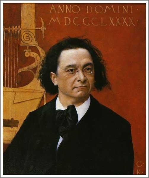 絵画(油絵複製画)制作 グスタフ・クリムト「J・ペンバウアーの肖像」