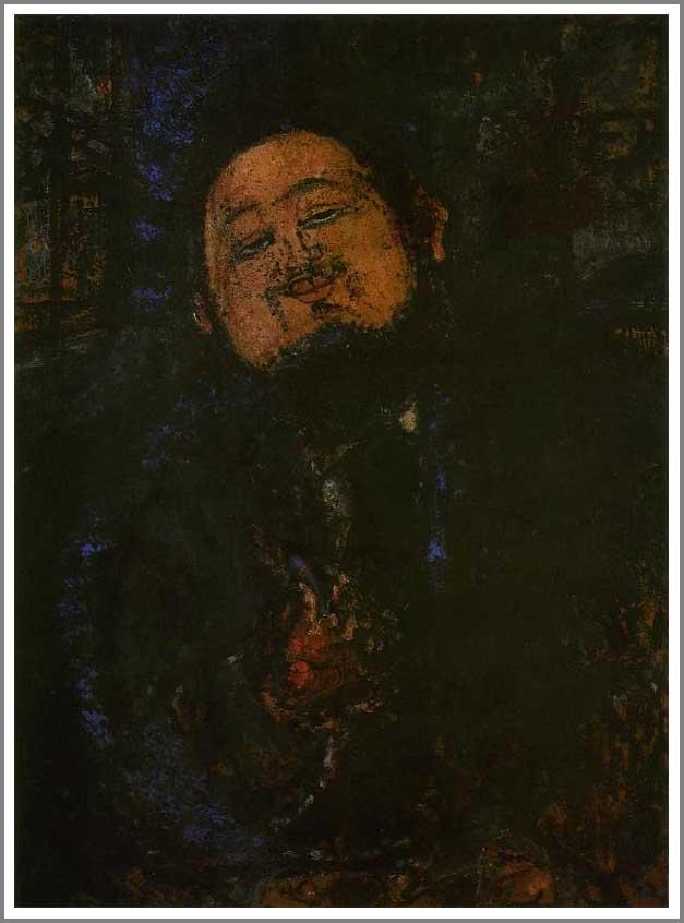 絵画(油絵複製画)制作 アメデオ・モディリアーニ「ディエゴ・リベラの肖像」