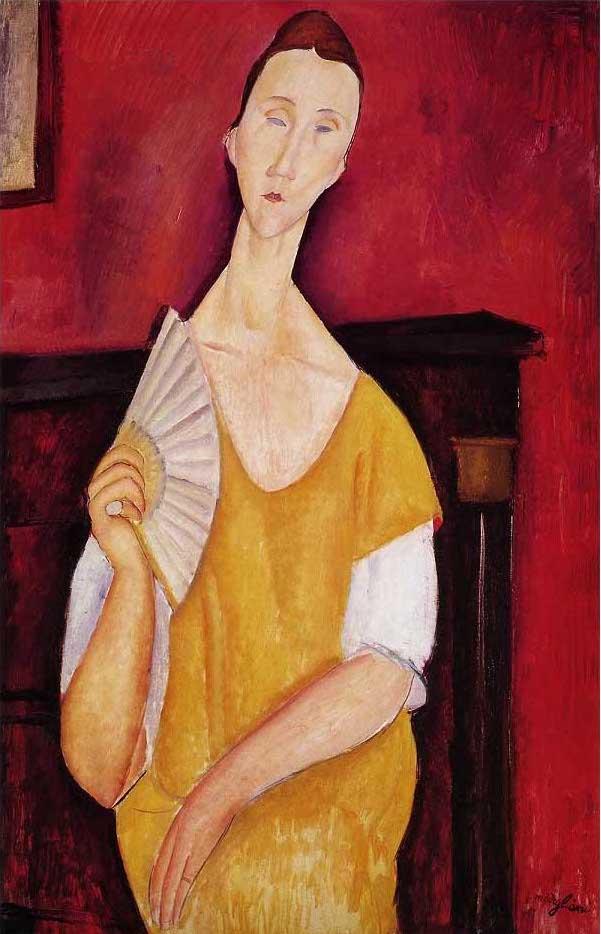絵画(油絵複製画)制作 アメデオ・モディリアーニ「ルニア・チェホフスカの肖像」