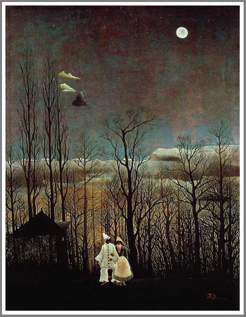 絵画(油絵複製画)制作 アンリ・ルソー「カーニバルの夕べ」