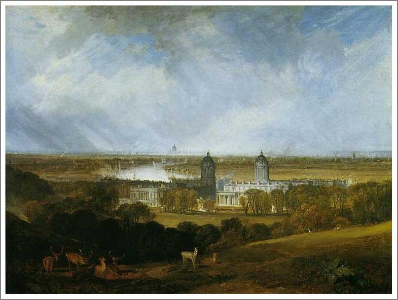 絵画(油絵複製画)制作 ウィリアム・ターナー「ロンドン」