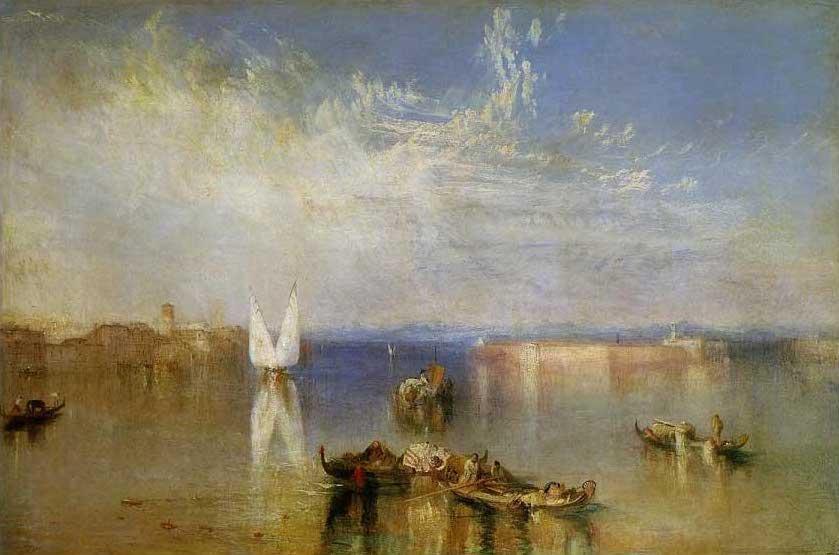 絵画(油絵複製画)制作 ウィリアム・ターナー「ヴェネチアのカンポ・サント」