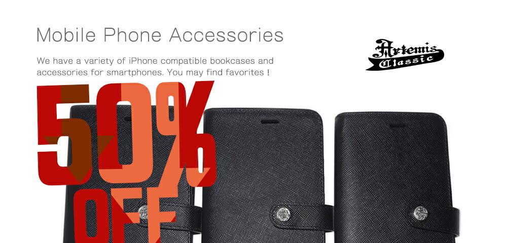 50%OFFセール Artemis Classic iPhoneブックケース