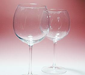 ワイングラスのベース