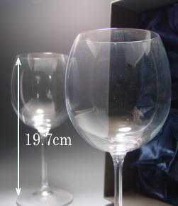 ワイングラスのサイズ