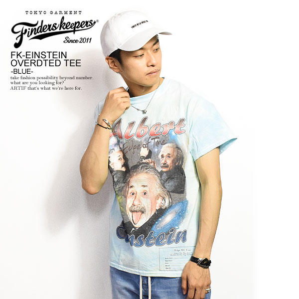 FINDERS KEEPERS ファインダーズキーパーズ FK-EINSTEIN OVERDTED TEE
