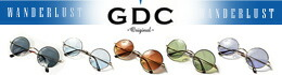 カラー豊富な丸メガネ GDC