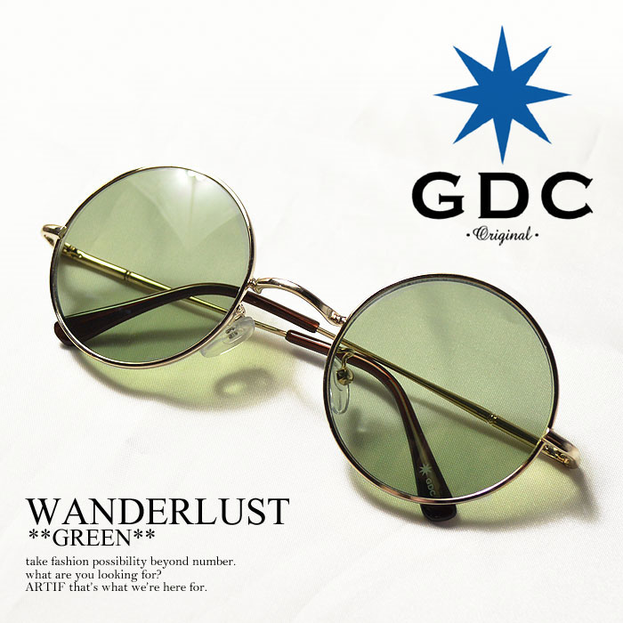7974818f33cf20 GDC (ジーディーシー) WANDERLUST GGDC【メンズ 眼鏡 サングラス 丸メガネ】【GDC ジーディーシー】