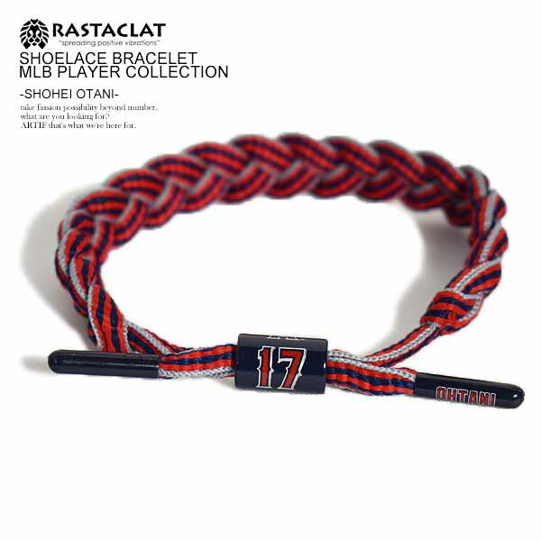 RASTACLAT SHOELACE BRACELET MLB PLAYER COLLECTION -SHOHEI OTANI-