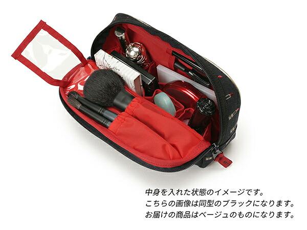 スロープシェイプ・ポーチ<Valiant Rouge(ヴァリアント・ルージュ)>