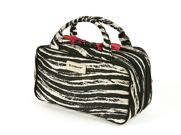ビューラーポケット付きポーチ<Zebra Chic(ゼブラ・シック)>