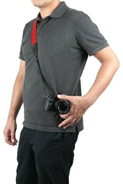 カメラストラップ<一眼レフ向け スタッズ付きワイドタイプ>