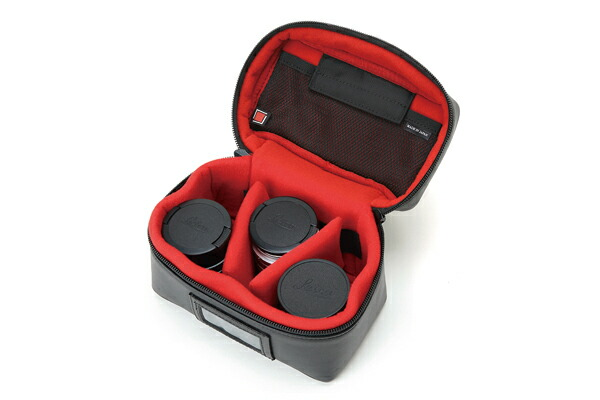 レンズ2・3台をコンパクトに収納できるバニティケース