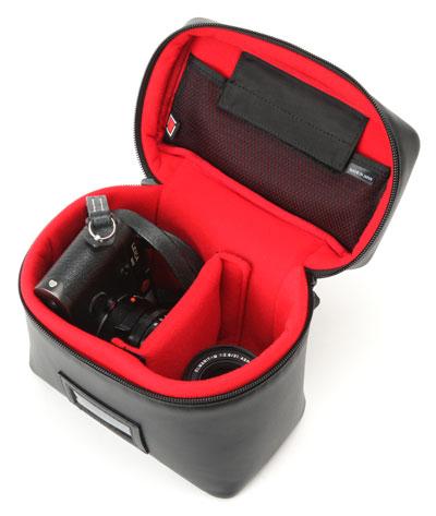 レンズ付きカメラ+替えレンズ収納用バニティ型ケース<カジュアル・シューティング>