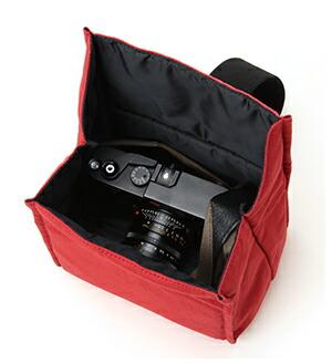 口折れ式バッグ・イン・カメラポーチ<カジュアル・シューティング>