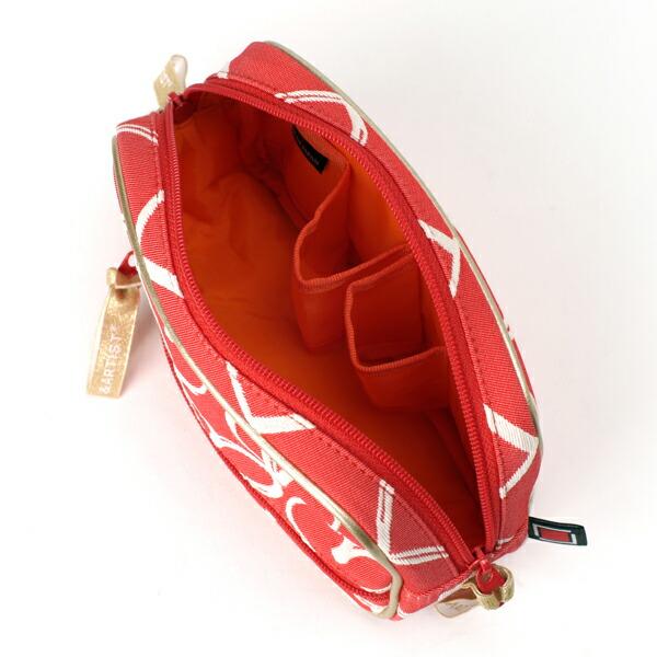 ティッシュケース付きサブポーチ<Rouge et Noir(ルージュ・エト・ノア)>