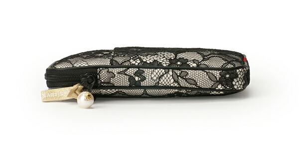 スリムなマルチユースポーチ<Tender lace Flower(テンダーレースフラワー)>