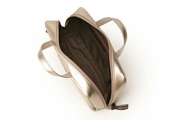 ブラシケース付きバッグ型ポーチ<Daily Gold(デイリーゴールド)>