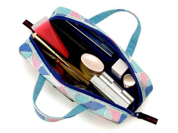 ブラシケース付きバッグ型ポーチ<Pastel Palette(パステル・パレット)>