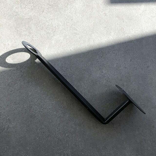 アイアン 3本セット ウォールフック 壁掛け ブラック 黒【art of black】