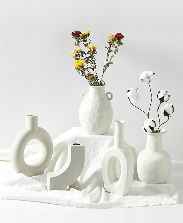フラワーベース 花瓶 【art of black】