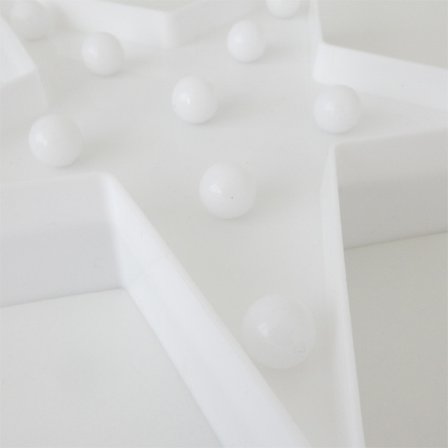 LEDライト 星 雲 ホワイト 置物 壁掛け 単3電池2本使用 スター クラウド【art of black】インテリア 北欧 モノトーン ウォールスタンド ベビー キッズ ルーム 海外雑貨 リゾート ギフト