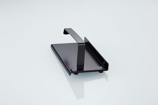 トイレットペーパー ホルダー 黒 18cm×8.5cm×6.5cm 【art of black】