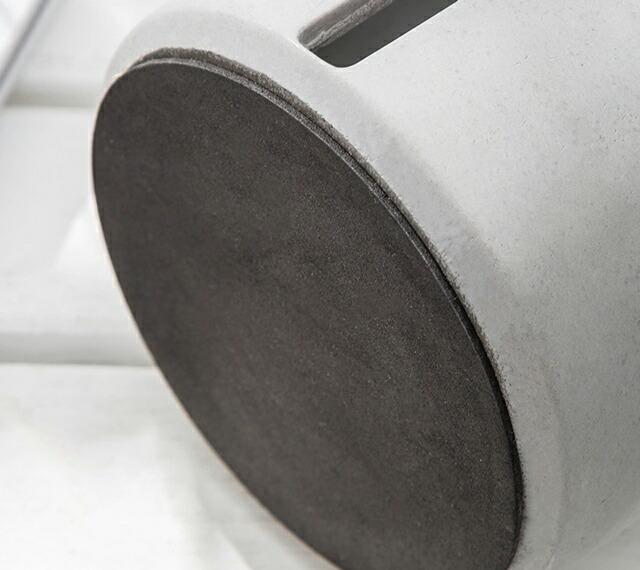 セメント トイレットペーパーホルダー cm×cm グレー モノトーン トイレットペーパースタンド 【art of black】
