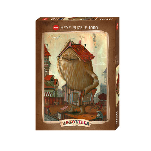 Heye Vertical Puzzle 29742-1000 Pcs. CARROT ZOZOVILLE
