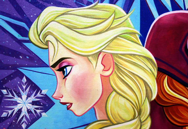 ティム・ロジャーソン「アナと雪の女王」