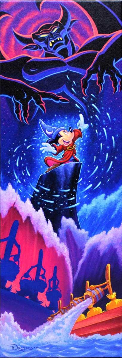 ティム・ロジャーソン「ミッキーマウス・ファンタジア/トライアンフ・オブ・イマジネーション」