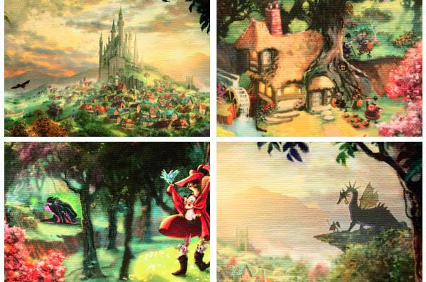 トーマス・キンケード「眠れる森の美女」