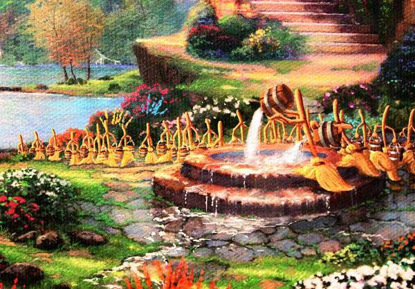 トーマス・キンケード「ミッキーマウス・ファンタジア」