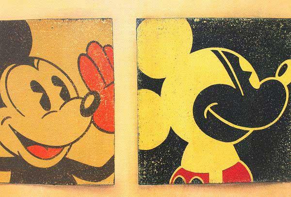 トレバー・カールトン「ミッキーマウス/6-up Mickey」