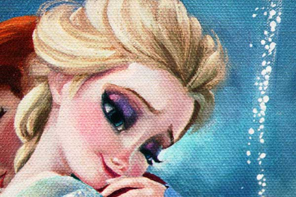 リサ・キーン「アナと雪の女王/暖かい抱擁」