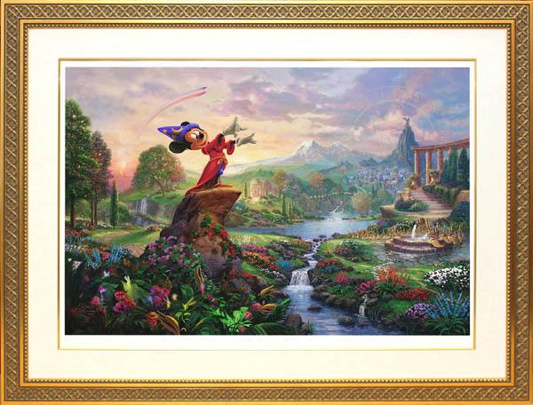 トーマス・キンケード「ミッキーマウス/ファンタジア」
