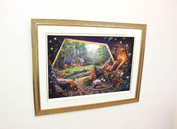 トーマス・キンケード「白雪姫と七人の小人」