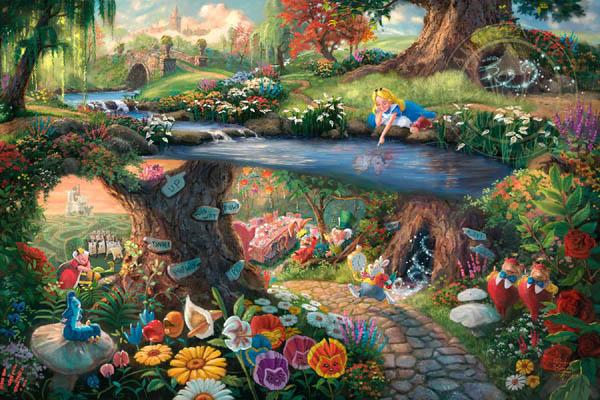 トーマス・キンケード「不思議の国のアリス」