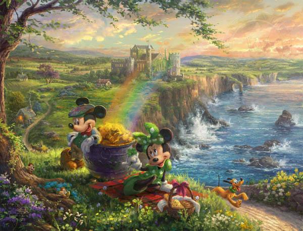 トーマス・キンケード「ミッキー&ミニー/アイルランド」