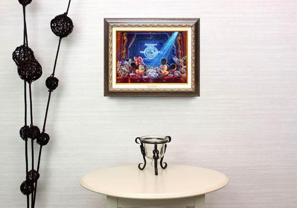 トーマス・キンケード「ミッキー&ミニー/90イヤーズ・オブ・ミッキー」