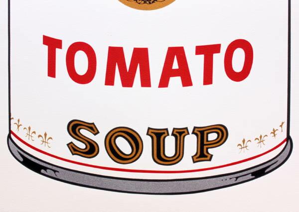 アンディ・ウォーホル「キャンベル・スープ(トマト)1968」