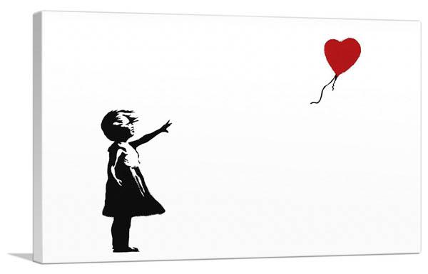 ガール ウィズ バルーン/Girl With Balloon(S)