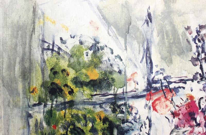 マルク・シャガール「果物と花」